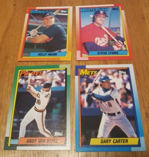 Topps 1990 Baseball Cards LotOf 54 Cards image 6