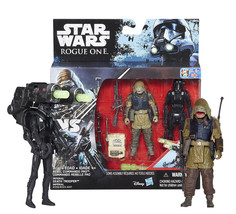 "Star Wars Rogue One Rebel Commando Pao & Imperial Death Trooper 3.75"" Fi... - $8.88"