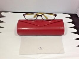 Valentino Women's Eyeglass Frames V5591 Italy 51-15-130 Case Cleansing C... - $34.99