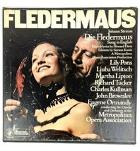 Johann Straus- Fledermaus 2 Record Set - $5.86