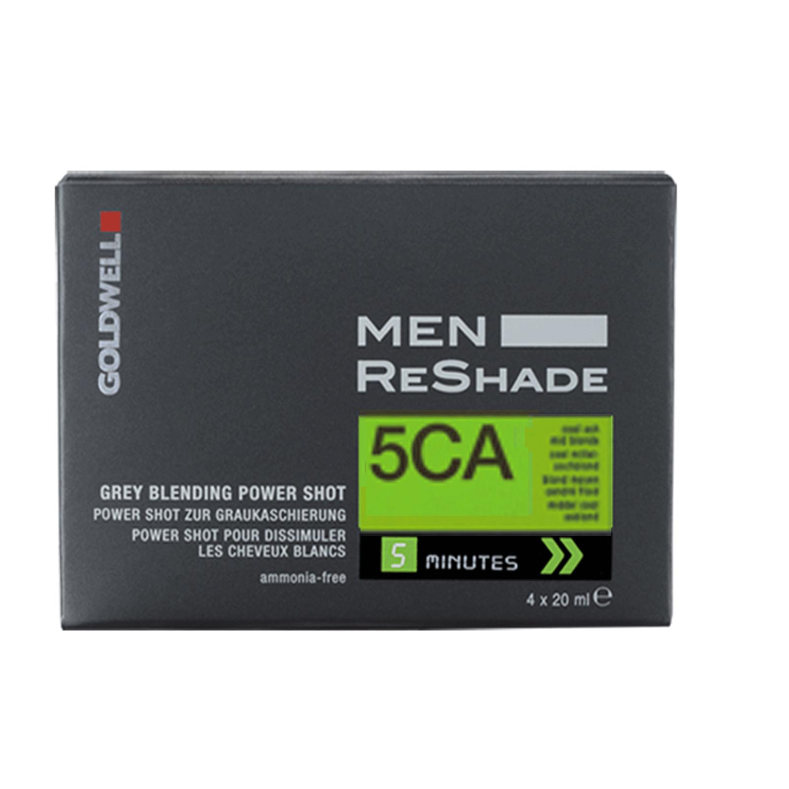 Goldwell USA Men ReShade Gray Blending 5CA Cool Ash Light Brown  ( 4 X 20ml )