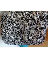 Thirty One Casual Cargo Purse Black Paisley Parade Shoulder Diaper Gym Bag - $29.99
