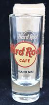 Hard Rock Cafe Chiang Mai Double Shot Glass New - $31.60