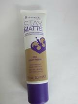 Rimmel London Stay Matte Liquid Mousse Foundation # 302 Light Nude 1 FL Oz - $7.81