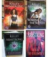 Otherworld Books by Kelley Armstrong Lot of 4 Hardcover - $4.50