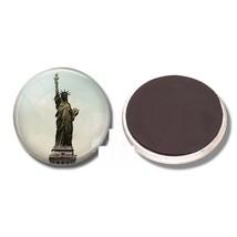 Statue Of Liberty Fridge Magnet Glass Vintage Art Home Decoration Access... - $6.79
