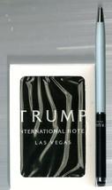 TRUMP INTERNATIONAL HOTEL LAS VEGAS PLAYING CARDS + STYLOS PEN - $19.79