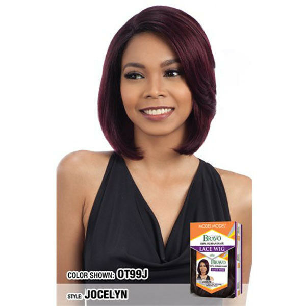 Primary image for MODEL MODEL BRAVO 100% REMY HUMAN HAIR LACE FRONT WIG LVOJO - JOCELYN