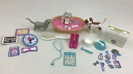 Barbie Pet Doctor Accessories and Animals Lot Pc Mattel Vintage 1995 - $16.88
