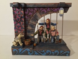 Disney Parks Showcase Jim Shore Pirates Of The Caribbean Jail Scene Figure New - $149.99