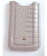 Mont Blanc iPhone 3 G, 3 GS, 4G ,4, 4S Phone Case Cover Sleeve Leather Grey - $74.65
