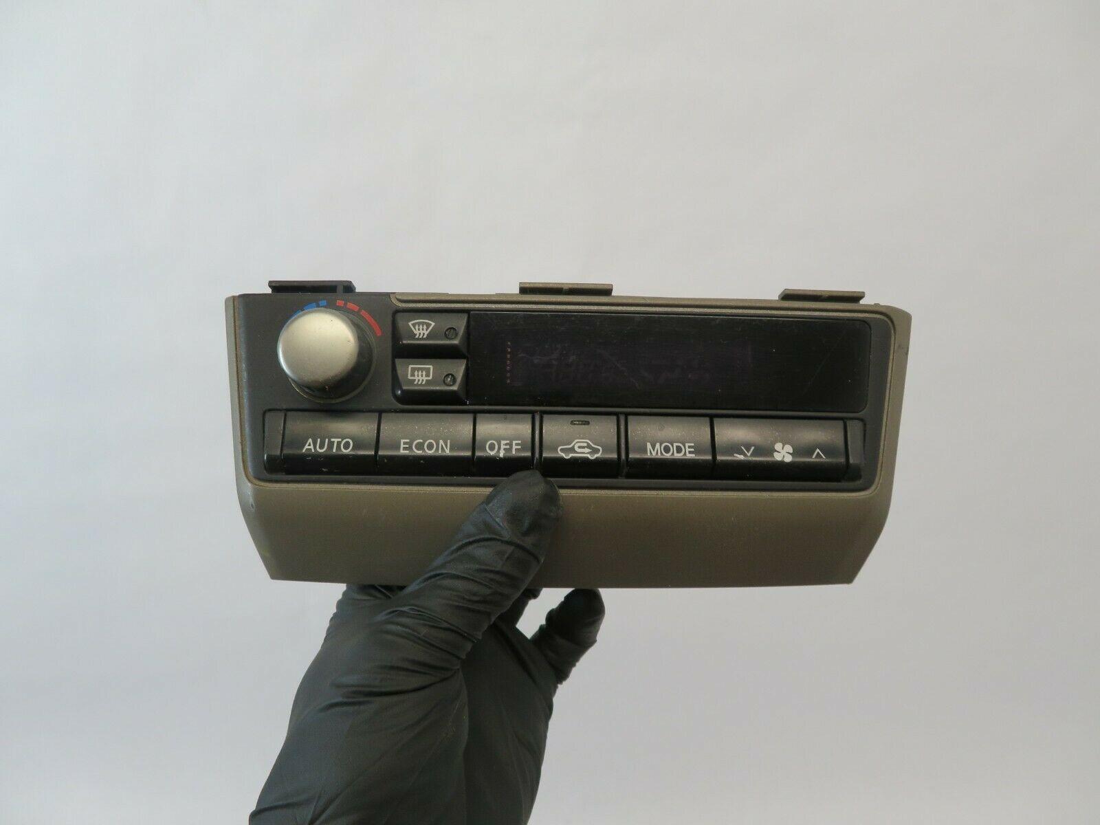 #4107G INFINITI I35 02 03 04 OEM DASH TEMP AC HEAT AIR CLIMATE CONTROL SWITCH - $21.00