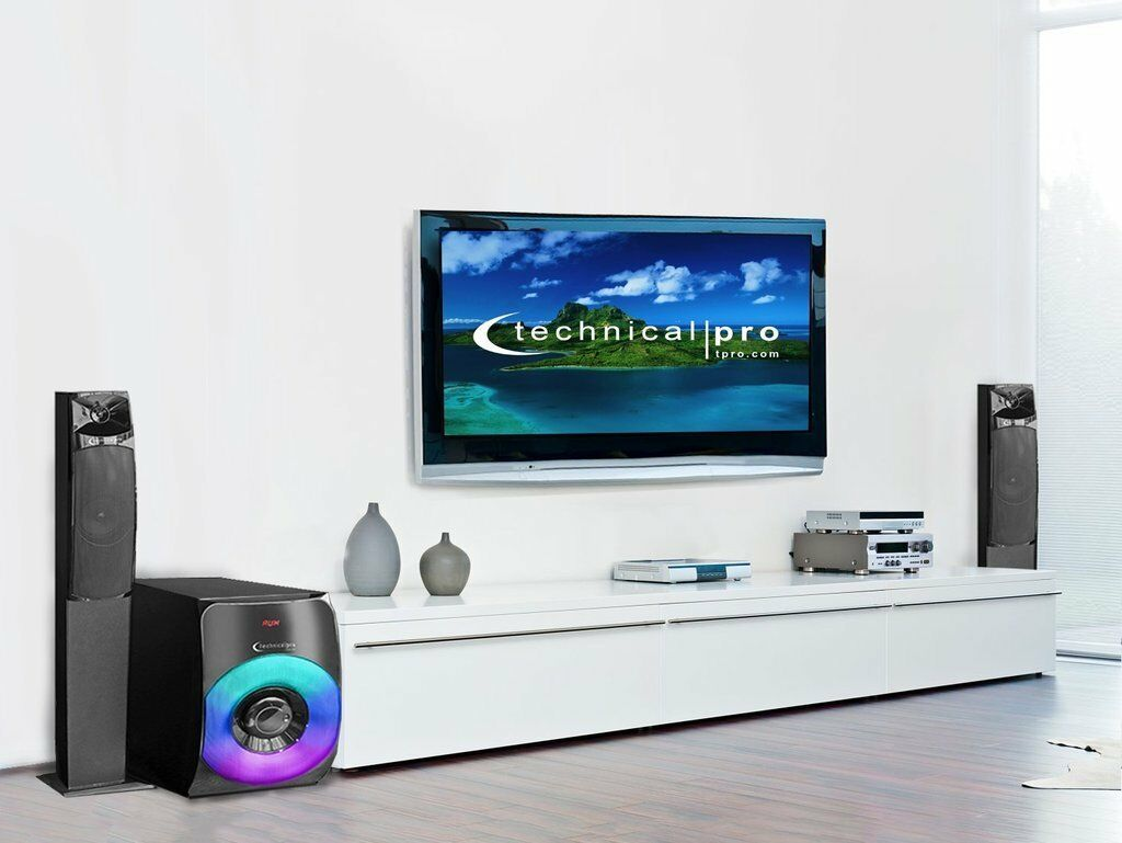 Technical Pro 2000w Bluetooth 2.1 Speaker System with SUBWOOFER