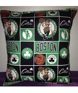Celtics Pillow Boston Celtics Pillow NBA Handmade in USA - $9.99