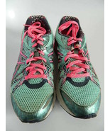 Womens Asics Gel-Preleus Blue & Pink Running Shoes, Size 7.5 - $31.99