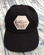 Life is Good UNPLUG Black Unisex ADJUSTABLE Baseball Cap Hat Classic Opt... - $12.87