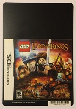 Nintendo DS Lego Lord of the Rings Blockbuster Artwork Display Card - $5.00