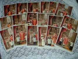 18 Traditional Catholic TRADITIONAL LATIN MASS Pictures Prints Priest Al... - $37.39