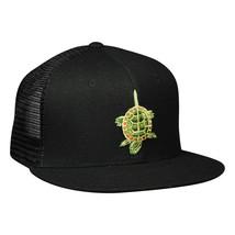 Snapping Turtle Island Trucker Hat - Black Snapback - £15.43 GBP