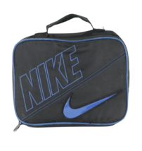 Vintage Nike Block Spell Out Big Swoosh Logo Handled Lunch Box Carry Cas... - $26.68