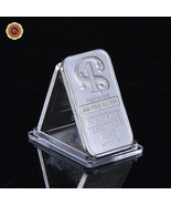 WR 1 Troy Ounce .999 Fine Pure Silver Bar Ingot In Plastic - $13.95