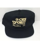 VTG Rare NOS CBS Sports Golf 1995 Masters Tournament Black & Gold Promo ... - $78.35