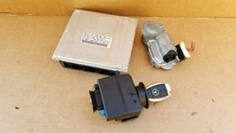 03-05 Mercedes Benz E320 C320 C32 ECU EIS Engine Computer Key Set A1121536679 image 1