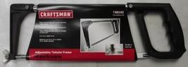 "Craftsman 36142 10"" or 12"" Adjustable And Tubular Frame Hacksaw - $10.89"
