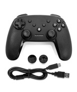 Gamefitz Wireless Controller for the Nintendo Switch in Black - $53.47