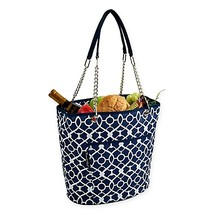 Picnic at Ascot Insulated Fashion Cooler Bag in Blue - $32.99