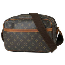 Auth Louis Vuitton Reporter PM Monogram Shoulder Bag Cross Body Bag M452... - $257.40