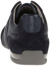 Hugo Boss Green Men's Premium Sport Fashion Sneakers Running Shoes Spacit image 14