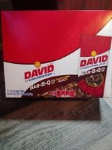 David Sunflower Seeds BBQ Flavor 12 Ct Box 1.625 oz Bar B Q Barbeque - $14.95