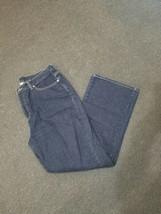 NY Jeans size 16 flare average blue jeans - $9.49