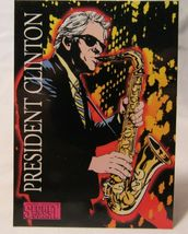 Topps Comics President Clinton 1993 Jack Kirby's Secret City Saga Promo ... - $5.00