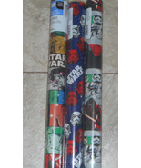USA STAR WARS MOVIE Christmas Wrapping Paper STORM TROOPERS KIDS 20 SQ F... - $4.00+