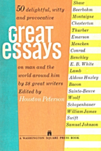Fifty Delightful, Witty and Provocative Great Essays on Man and the Worl... - $2.95