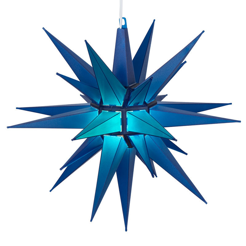 Led blue bright moravian star 1931