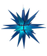 Led blue bright moravian star 1931 thumbtall