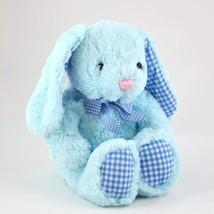 Keel Toys Nursery Gingham Rabbit - $11.99