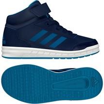 Adidas Kids Boys Shoes Altasport Mid Casual Fashion Trainers Ortholite B... - $47.45