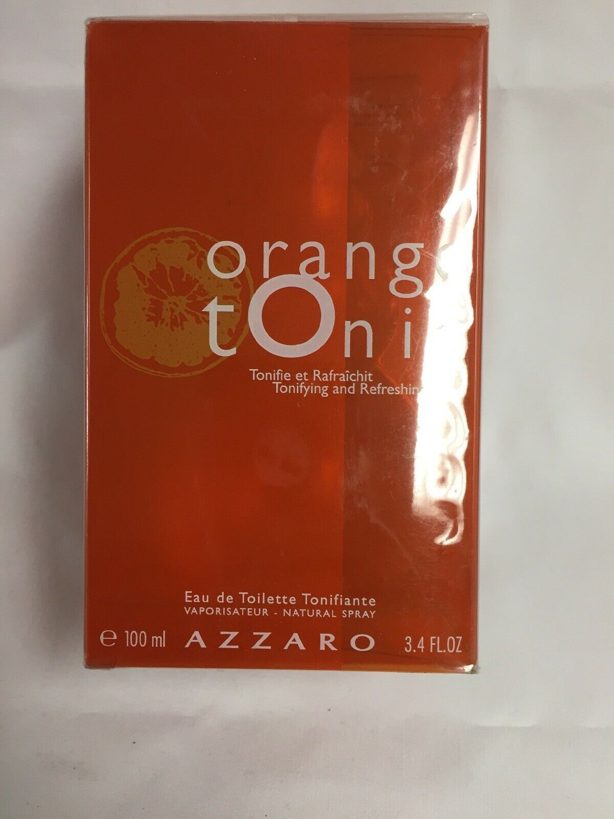 Azzaro orange tonic 3.4 oz perfume