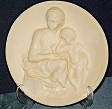 """""""Madonna Pensosa"""" Di Volteradici Commemorative Plate by Ado Santini AA20-CP2331"""