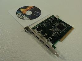 Best Ports PCI Multimedia Firewire Card 1394a 4 Port SD-CBALINEC-4E6I - $11.14
