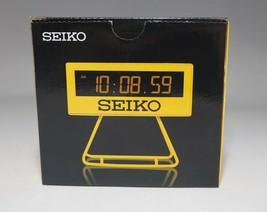 SEIKO Mini Sports Timer Clock Digital SQ815Y - $49.49