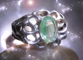 HAUNTED RING ALEXANDRIA'S I WILL NEVER GO WITHOUT AGAIN POWERFUL SECRET MAGICK - $9,277.77