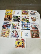 Lot of 17 Nintendo 3DS Games W/ Cases Pokemon Mario Luigi Pacman Spiderm... - $187.00
