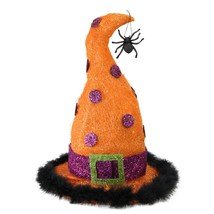 """Northlight 15.75"""" Lighted Sisal Witch's Hat Halloween Outdoor Decoration - $38.11"""