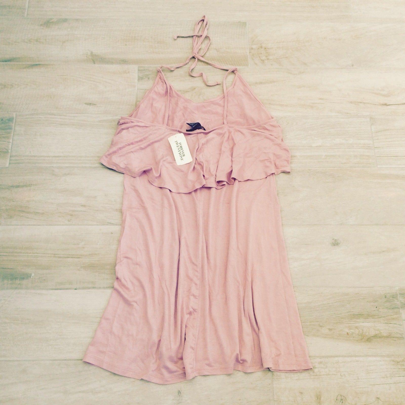 LOOSE SHORT MAUVE PINK DRESS M