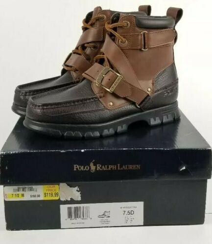 bc14f8c4fe2 Polo Ralph Lauren Men Boots Zig Zag II Brown and 50 similar items
